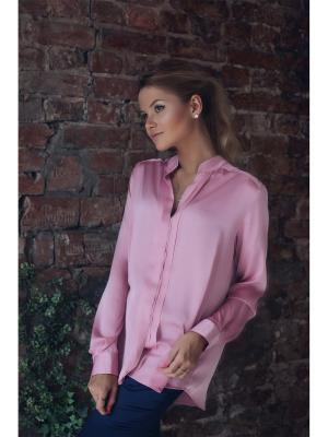 Блузка Kim Wooly's. Цвет: розовый