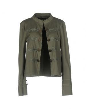 Пиджак MANILA GRACE. Цвет: зеленый-милитари