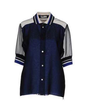 Pубашка BOUCHRA JARRAR. Цвет: черный