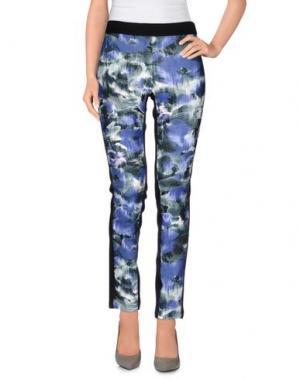 Повседневные брюки LE COMPLICI. Цвет: цвет морской волны