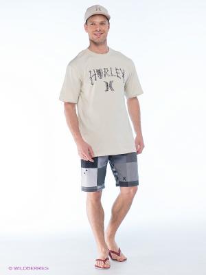 Бордшорты Hurley. Цвет: серый