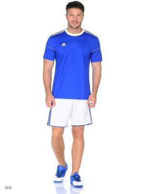 Спортивные шорты Adidas. Цвет: синий