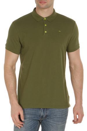 Рубашка-поло Marc by Jacobs. Цвет: зеленый