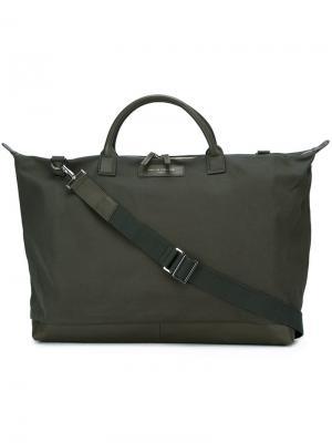 Дорожная сумка Hartsfield Weekender Want Les Essentiels De La Vie. Цвет: зелёный