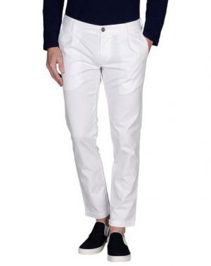 Повседневные брюки C+ PLUS. Цвет: белый
