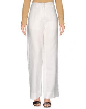 Повседневные брюки TELA. Цвет: белый
