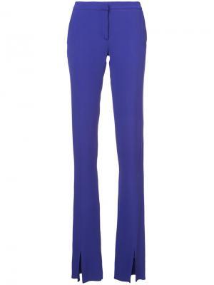 Расклешенные брюки Jeffrey Dodd. Цвет: розовый и фиолетовый