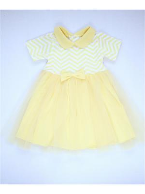 Платье банановое зигзаги TRENDYCO Kids