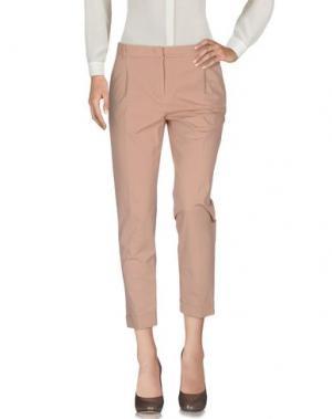Повседневные брюки QL2 QUELLEDUE. Цвет: телесный