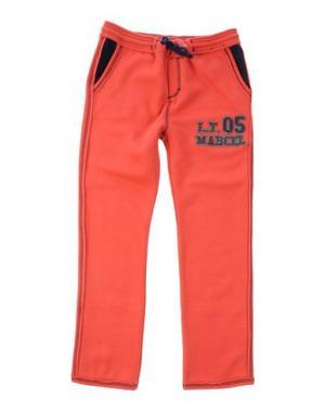Повседневные брюки LE PETIT MARCEL. Цвет: ржаво-коричневый