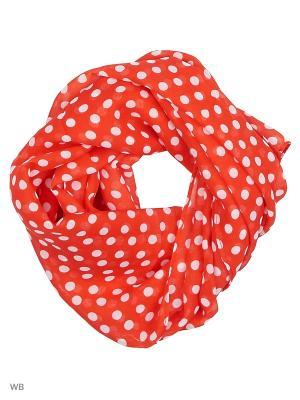 Платок Stilla s.r.l.. Цвет: красный, белый