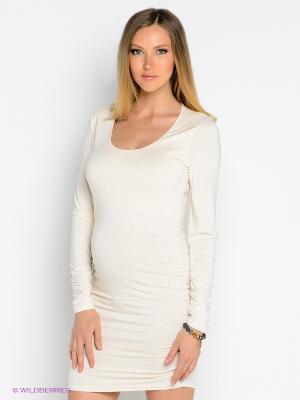 Платье Isabella Oliver. Цвет: кремовый