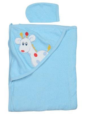 Уголок для купания малыша M-BABY. Цвет: голубой