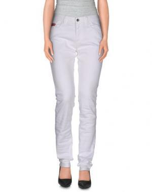 Джинсовые брюки UNLIMITED. Цвет: белый