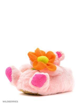 Обувь домашняя Effa. Цвет: розовый, оранжевый