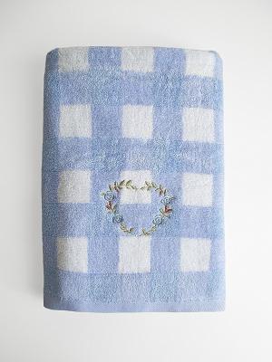 Полотенце A and C Collection. Цвет: голубой