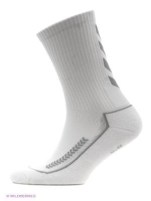 Носки ADVANCED INDOOR SOCK LOW HUMMEL. Цвет: белый, серый