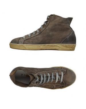 Высокие кеды и кроссовки PLAYHAT. Цвет: темно-зеленый