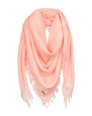 Платок DONDUP. Цвет: лососево-розовый
