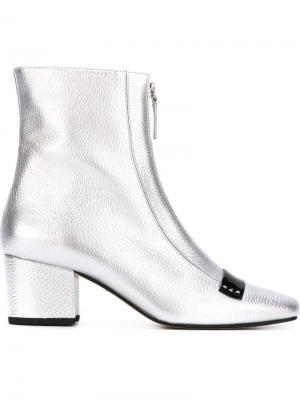 Ботинки Double Delta Dorateymur. Цвет: металлический