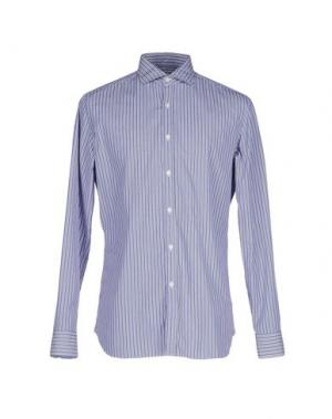 Pубашка ALESSANDRO GHERARDI. Цвет: грифельно-синий