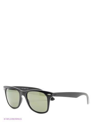 Очки солнцезащитные WAYFARER LITEFORCE Ray Ban. Цвет: черный