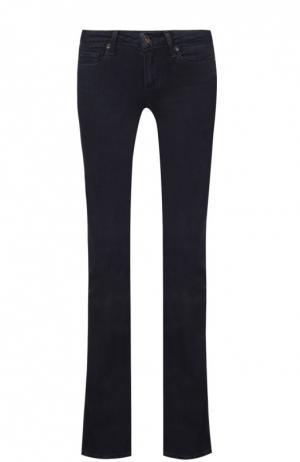 Расклешенные джинсы с карманами Paige. Цвет: синий