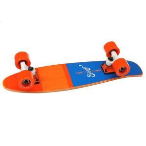 Скейт мини круизер  Shelby Orange 6.25 x 23 (58.4 см) Eastcoast. Цвет: оранжевый,синий