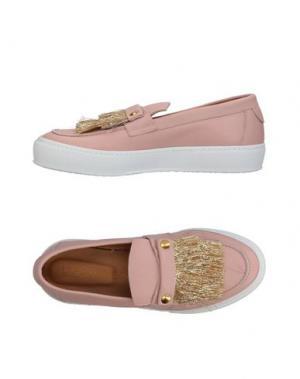 Низкие кеды и кроссовки L'F SHOES. Цвет: светло-розовый