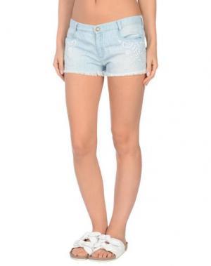 Пляжные брюки и шорты ERMANNO SCERVINO BEACHWEAR. Цвет: синий