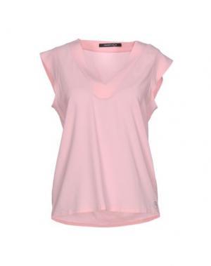 Блузка NAUGHTY DOG. Цвет: розовый