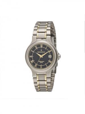 Часы TM8697MM Romanson. Цвет: темно-серый, золотистый