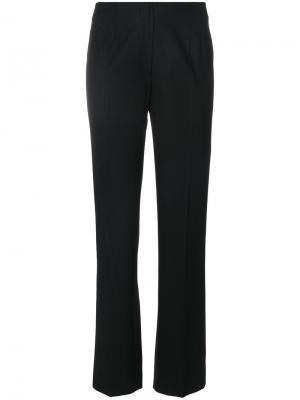 Прямые брюки Piazza Sempione. Цвет: чёрный