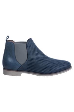 Ботинки NILA. Цвет: синий