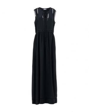 Длинное платье P.A.R.O.S.H.. Цвет: черный