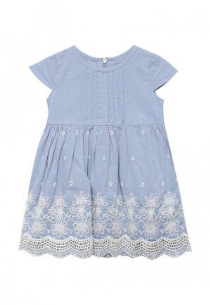 Платье Staccato. Цвет: голубой