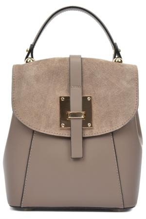 Рюкзак CARLA FERRERI. Цвет: light brown