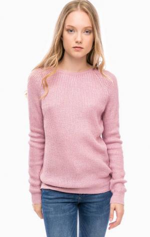 Трикотажный сиреневый свитер Kocca. Цвет: сиреневый