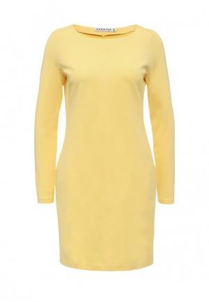 Платье Yarmina. Цвет: желтый