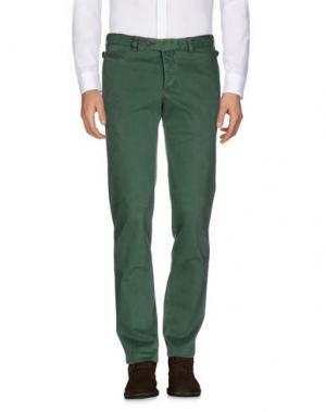 Повседневные брюки REPORTER. Цвет: зеленый