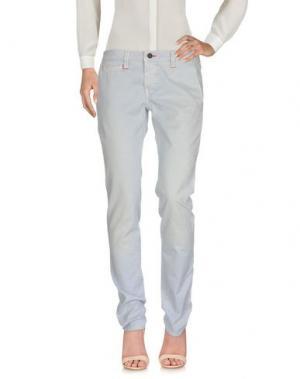Повседневные брюки TRAMAROSSA. Цвет: сиреневый
