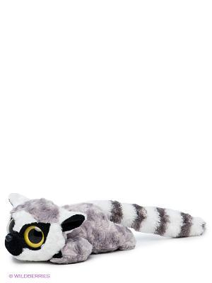 Иягкая игрушка лемур Лемми AURORA. Цвет: белый, серый