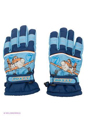 Перчатки Чудо-Кроха. Цвет: синий, оранжевый, темно-синий