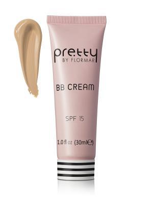 Bb крем Pretty тон02 Естественно-бежевый Flormar. Цвет: бежевый