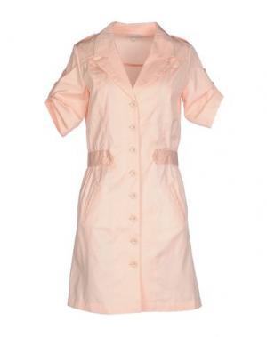Короткое платье MARGIT BRANDT. Цвет: лососево-розовый
