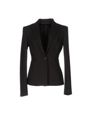 Пиджак ANNARITA N.. Цвет: темно-коричневый