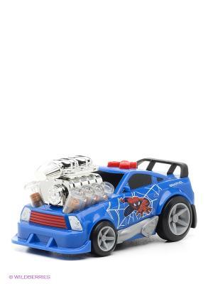 Машина Toystate marvel Человек-паук. Цвет: синий