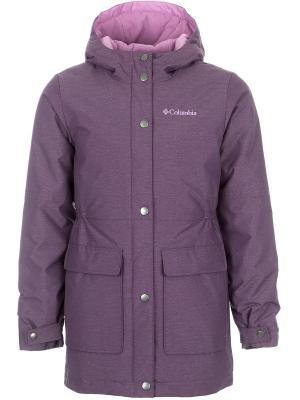 Куртка Columbia. Цвет: сиреневый