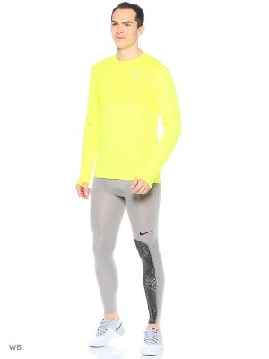 Лонгслив M NK ZNL CL RELAY TOP LS Nike. Цвет: желтый