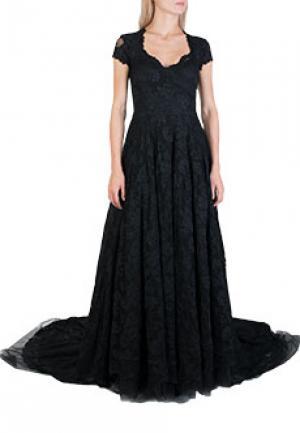 Платье OLVI`S. Цвет: черный